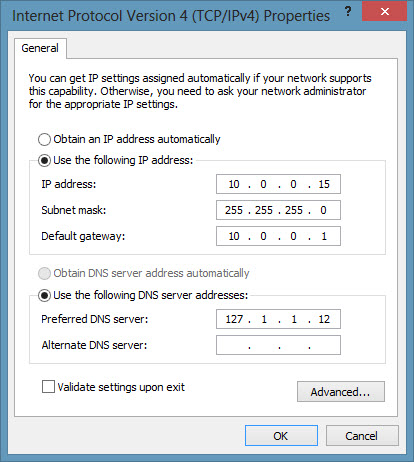Configure static or dynamic IP and DNS with Powershell